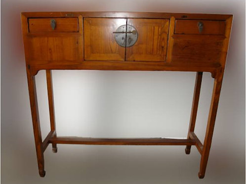 High sidetable with two doors and two drawers