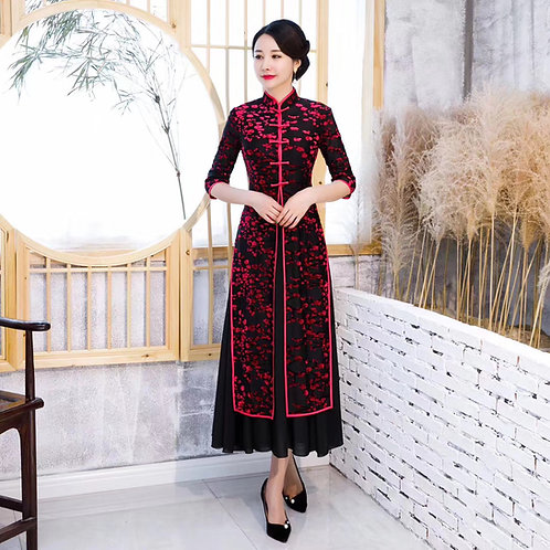 QiPao Dress - Princess style