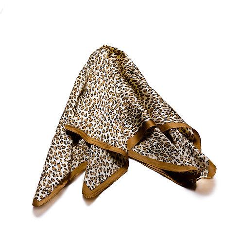 Silk scarves / pocket handkerchiefs - Animal pattern