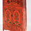 Thumbnail: Tibetan high mountains antique, two-piece cabinet with spiritual flowers