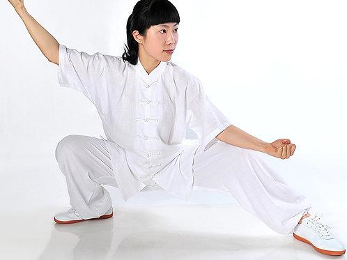 Tunics with buttons for practising Gong Fu, Tai Qi (Tai Chi), etc.