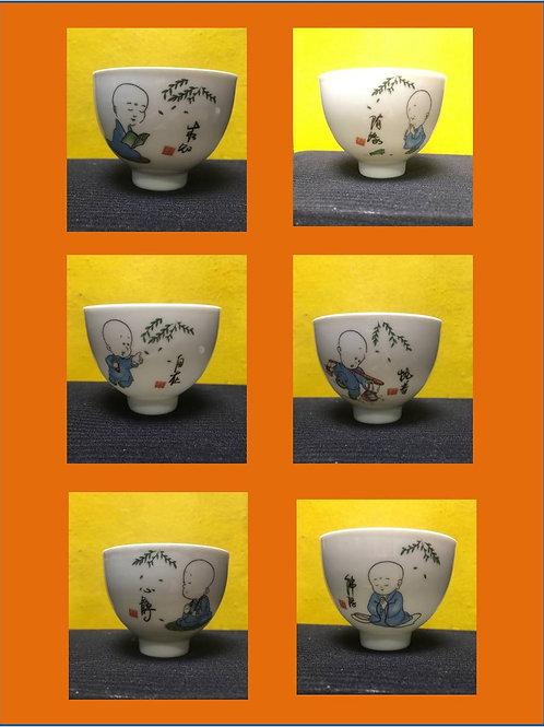 Set of 6 Zen cups