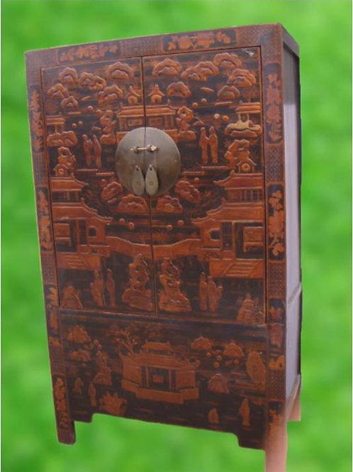 Beautiful handprinted Wedding cabinet
