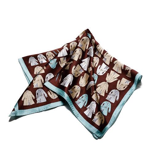 Silk scarves / pocket handkerchiefs - Coats and Jackets
