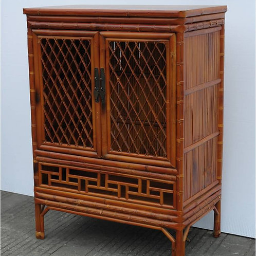 Beautiful Bamboo cabinet with copper lock