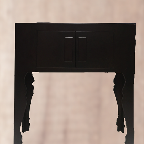 Beautiful side table with two doors