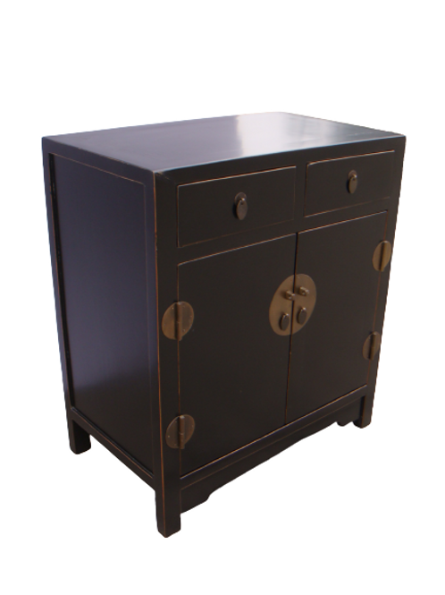 Cabinet with two drawers and two doors