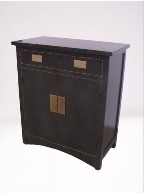 Cabinet with one drawer and two doors