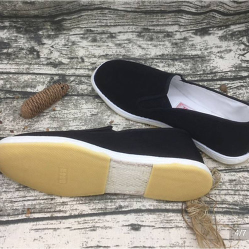 Handmade Cotton shoes for practising Gong Fu, Tai Qi (Tai Chi), elastic