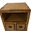 Thumbnail: Yellow cabinet with two drawers