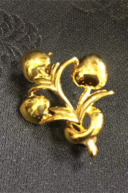 Goldplated Brooch