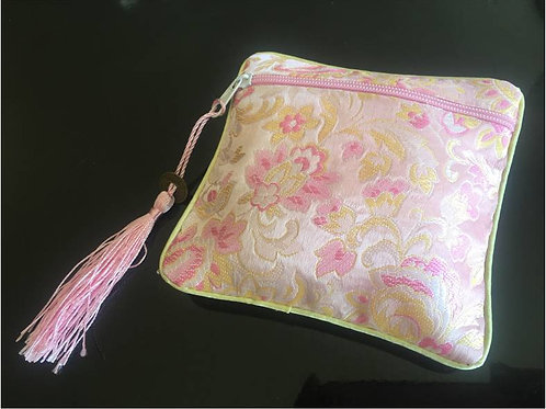Elegant Silk purse – various colours (1)