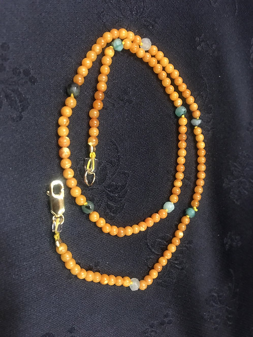 MADE-TO-ORDER Amber Bracelet with elastic string - for babies, for adults
