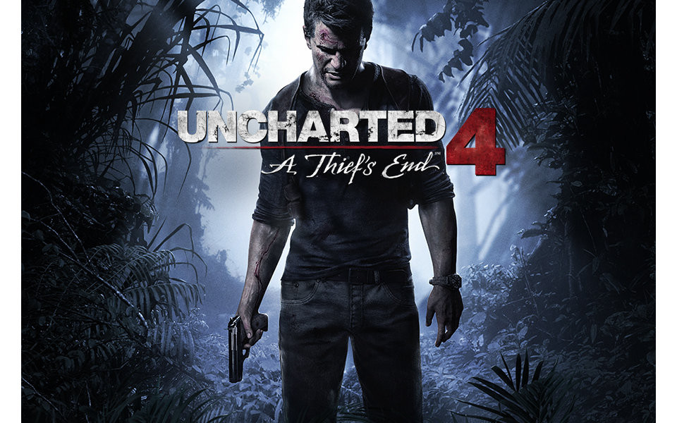 Uncharted 4 Game Cover