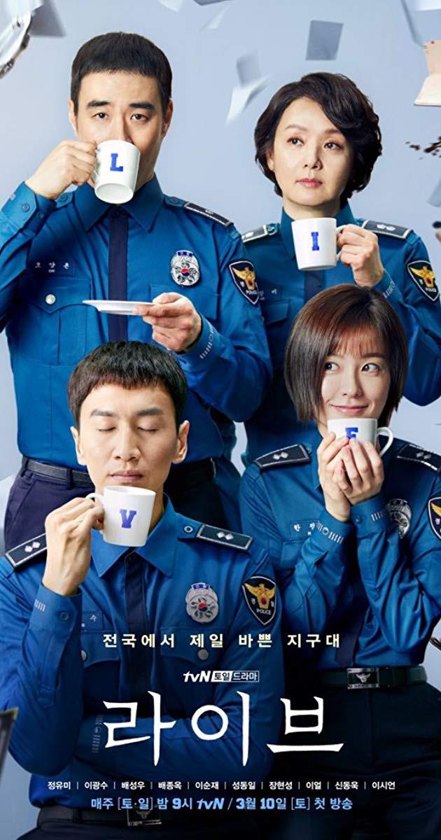 Live K-Drama Poster