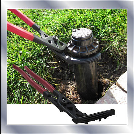 sprinkler head removal replacement adjustment tool