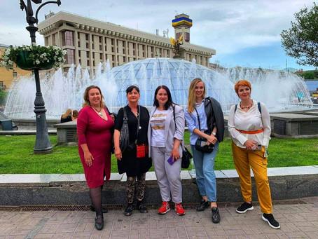 Зустріч з журналісткою з Хорватії, редакторкою туристичного видання Place2GO