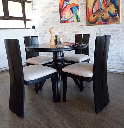 High Back 4 Seater Dining