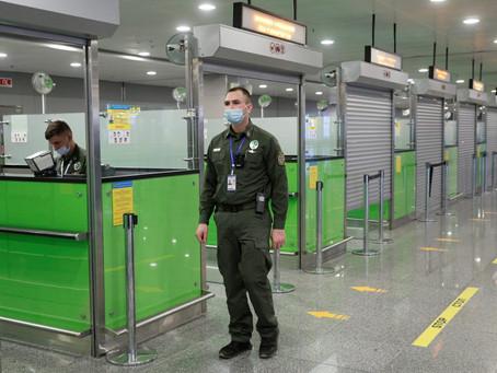Умови щодо перетину державного кордону іноземними громадянами