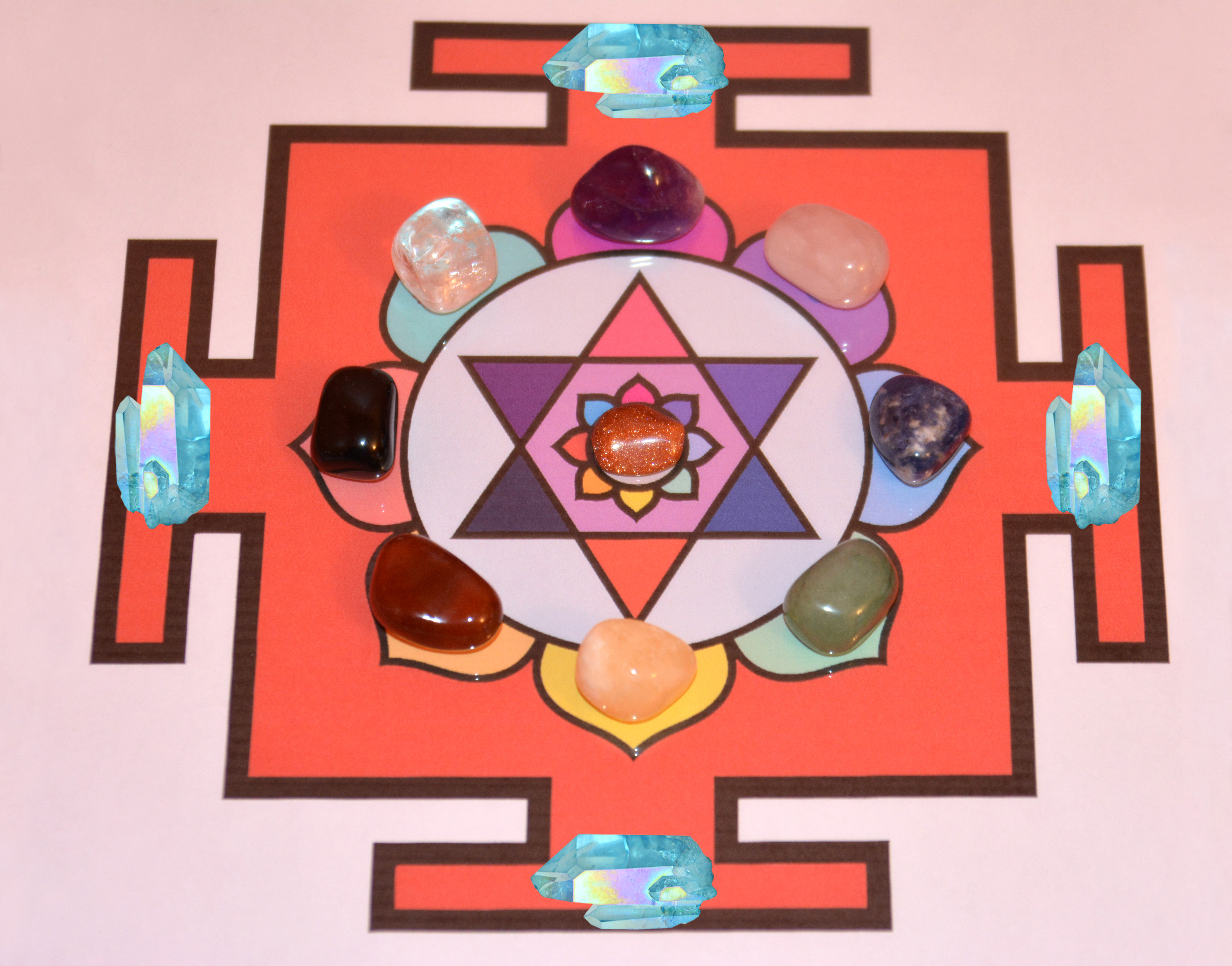 Holographic Chakra Cleansing Grid