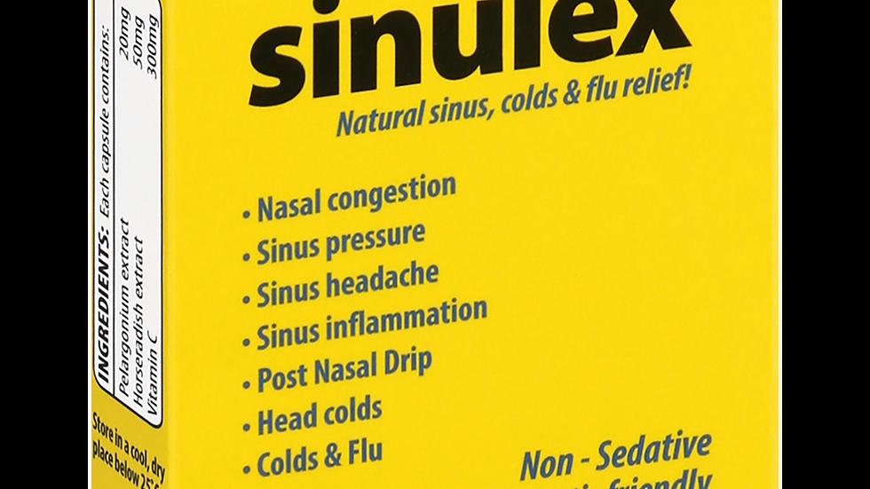 Sinulex Natural Antibiotic 10 Capsules