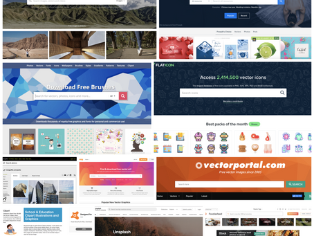 Top 10 Websites to Download Free Images and Vector Files 2020