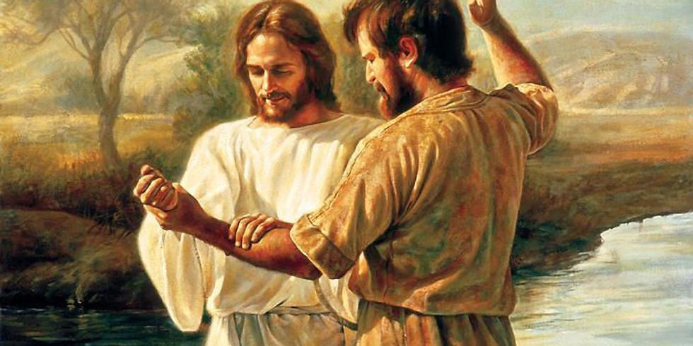 The 1st Sunday of Epiphany 2021 The Baptism of Christ