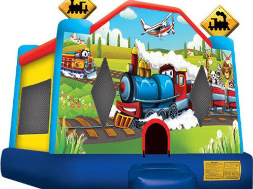 Adventure Train Jump