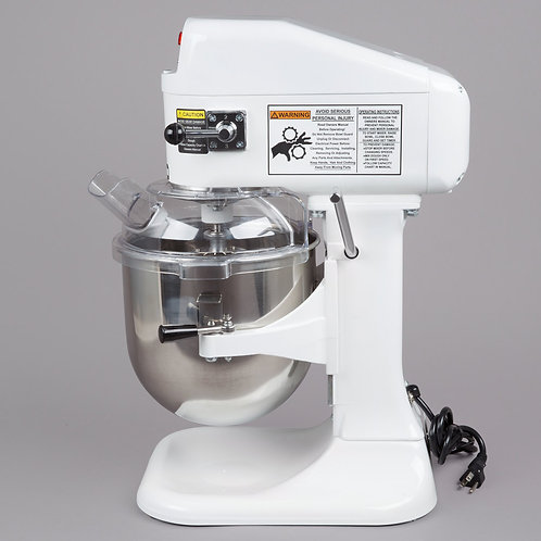 Globe 8Qt Gear Driven Commercial Countertop Mixer – SP8 - 115V