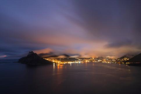 Hout Bay At Night