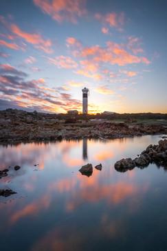 Pringle Bay Lighthouse Reflectionse