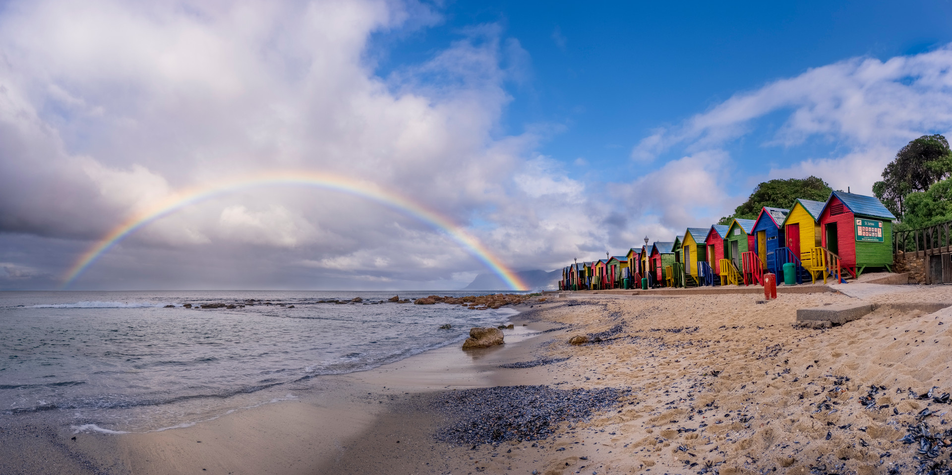 St. James Rainbow Panoramic