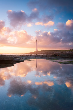 Slangkop Lighthouse Reflections