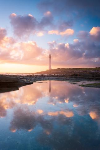 Slangkop Lighthouse Reflections 1.
