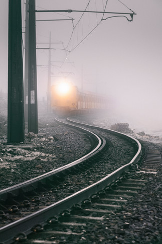 Train In The Mist