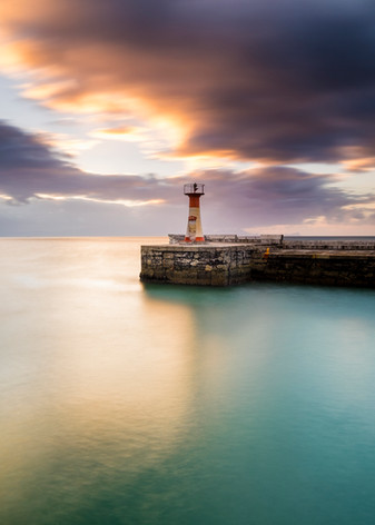 Kalk Bay Lighthouse Full Moon