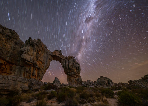 Wolfberg Arch Star Trail 1.
