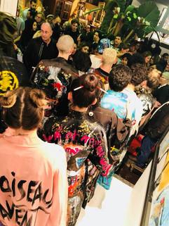 Unique fashion art show