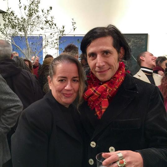 exposition Alexandra Taupiac avec Gilles Perez De La Véga
