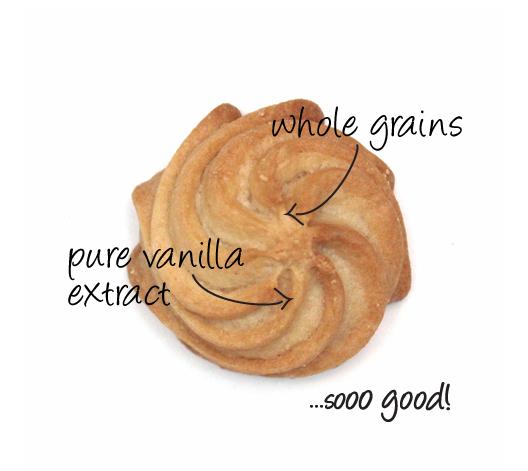 gluten free vanilla swirl