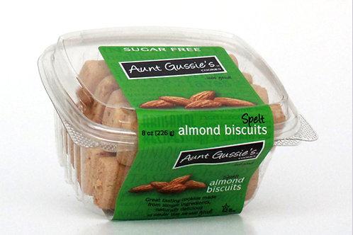 Spelt Sugar Free Almond Biscuits