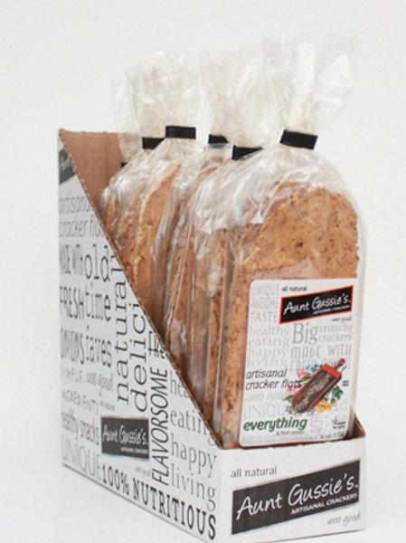 Wheat Everything Cracker Flats