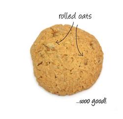 spelt sugar free oatmeal cookies