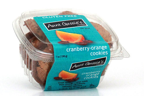 Gluten Free Cranberry Orange Cookies