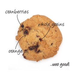 gf cranberry-orange cookies
