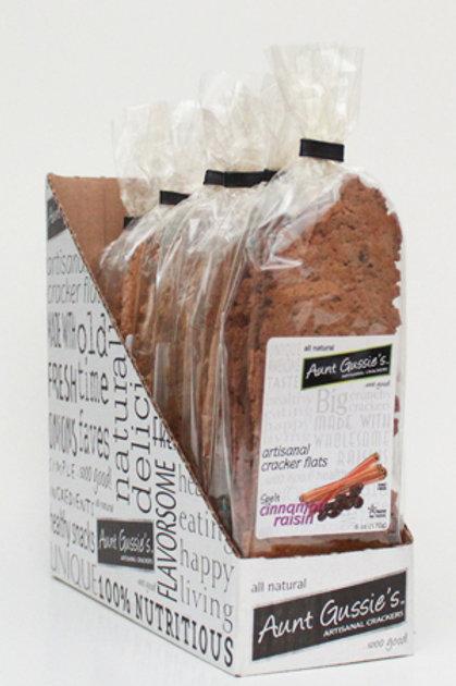 Spelt Cinnamon Raisin Cracker Flats