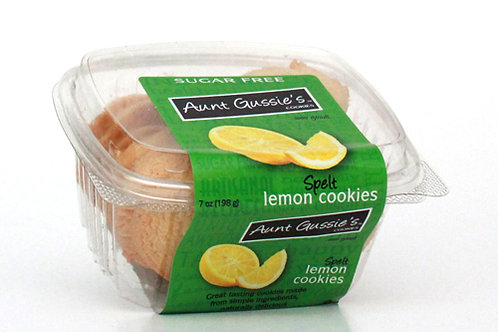 Spelt Sugar Free Lemon Cookies