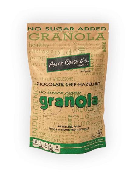 No Sugar Added Granola Chocolate Chip Hazelnut