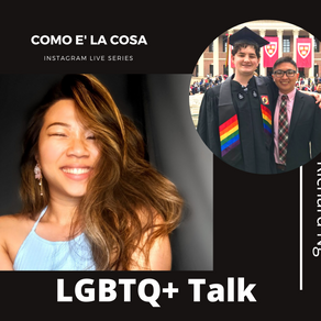 IGTV Show - Coming out in a homophobic culture - Como e' la cosa Series