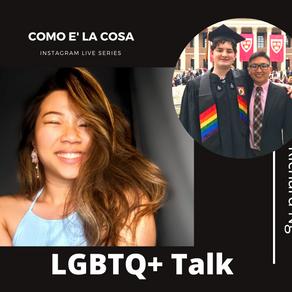 IGTV Show - Coming out in a homophobic culture - Como e' la cosa Series